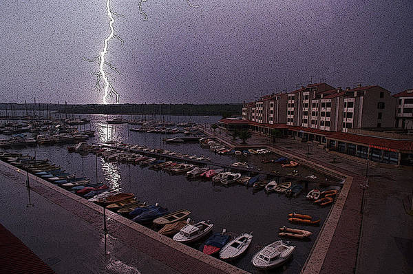 Photograph - Lightning by Dragan Kudjerski