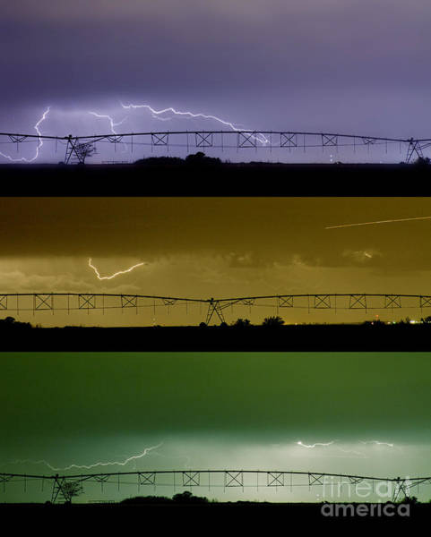 Photograph - Lightning Warhol  Abstract by James BO Insogna