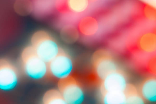 Bokah Photograph - Lights Out Of Focus II by Jeff Turpin