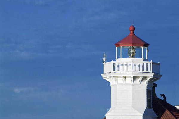 Coast Guard House Photograph - Lightstation Mukilteo by Patrick M Lynch