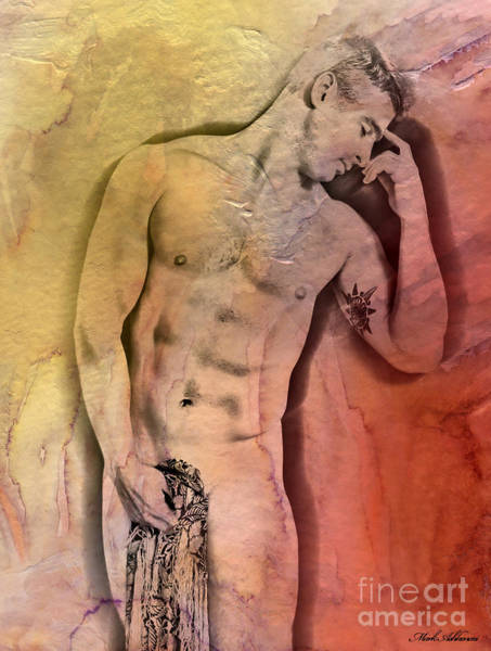 Bodybuilder Painting - Like A Natural Man by Mark Ashkenazi
