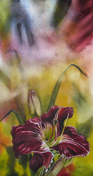 Lily In Red Art Print
