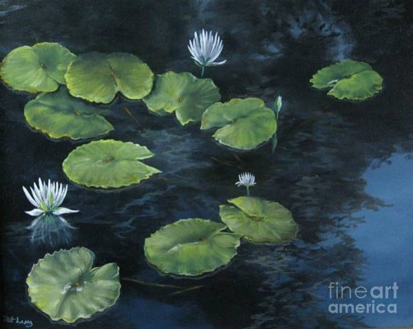 Wall Art - Painting - Lilypond by Patricia Lang