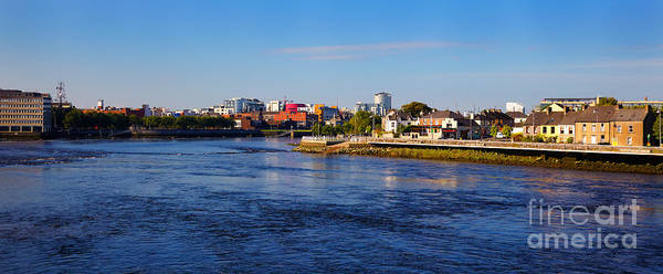 Wall Art - Photograph - Limerick City And Shannon River by Gabriela Insuratelu