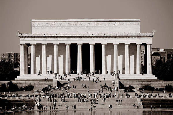 Photograph - Lincoln Memorial 2 by Andrew Fare