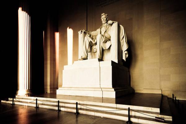 Gettysburg Address Wall Art - Photograph - Lincoln Memorial by Dave Hahn