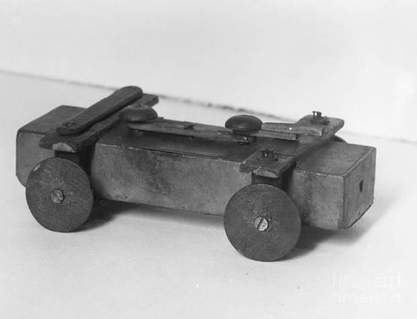 Photograph - Lincoln Toy Wagon by Granger