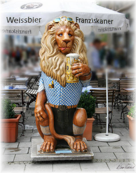 Photograph - Lion Of Beer by Diana Haronis