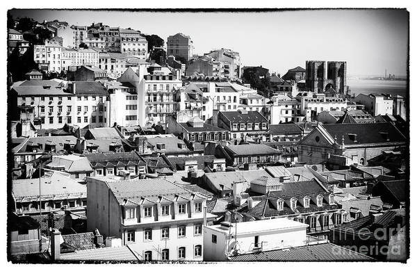 Wall Art - Photograph - Lisbon Cityscape Iv by John Rizzuto