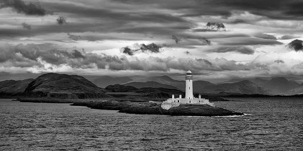Wall Art - Photograph - Lismore Lighthouse by Guido Tramontano Guerritore