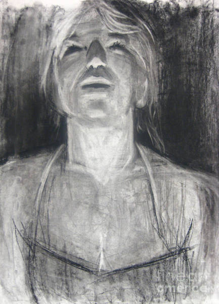Art Print featuring the drawing Lit by Gabrielle Wilson-Sealy