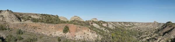 North Dakota Badlands Wall Art - Photograph - Little Badlands Missouri Panorama1 by Michael Peychich