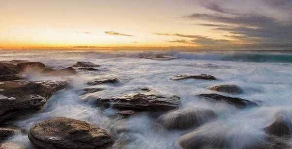 Photograph - Little Bay Rising II by Mark Lucey