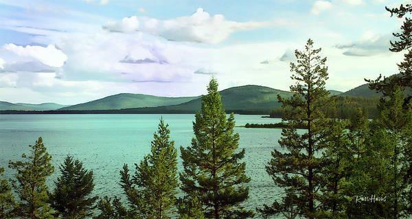 Little Bitterroot Lake Montana Art Print