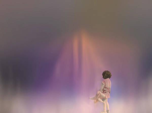 Digital Art - Little Girl Lost by Robin Webster