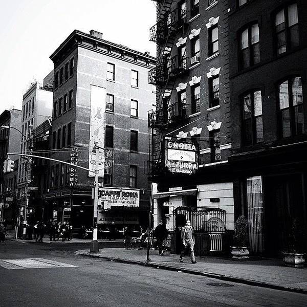 Black And White Photograph - Little Italy - New York City by Vivienne Gucwa