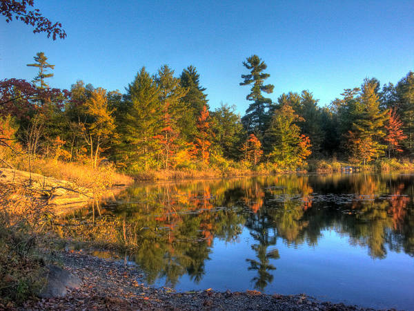 Napanee Photograph - Little Mellon Lake Two by John Herzog