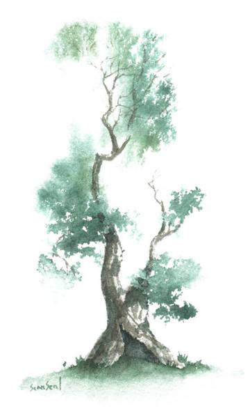 Wall Art - Painting - Little Zen Tree 662 by Sean Seal