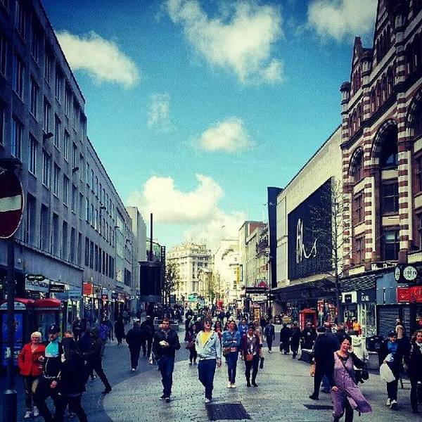 Shop Wall Art - Photograph - #liverpool #city #shopping #shops by Abdelrahman Alawwad