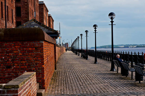 Photograph - Liverpool Riverfront by Edward Peterson