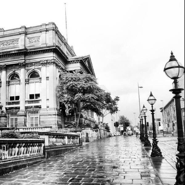 #liverpool #uk #england #rainy #rain Art Print