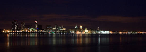 Grace Cathedral Photograph - Liverpool Waterfront by Wayne Molyneux
