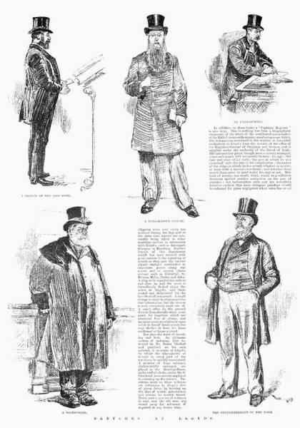 Membership Photograph - Lloyds Of London, 1890 by Granger