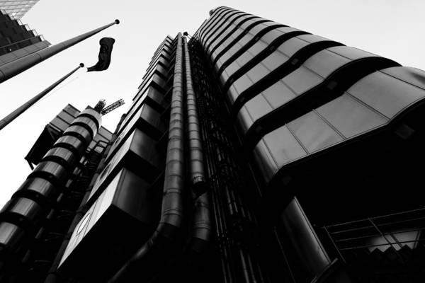 Wall Art - Digital Art - Lloyds Of London Building by David Pyatt