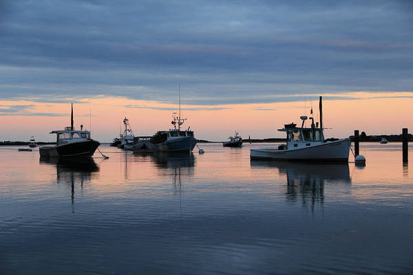 Photograph - Lobster Boats  by Jeremy McKay