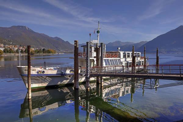 Lake Maggiore Photograph - Locarno Lake Maggiore by Joana Kruse
