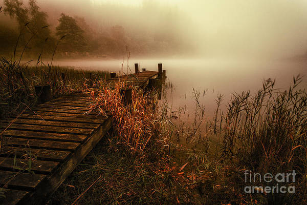 Loch Ard Photograph - Loch Ard Early Morning Mist by John Farnan
