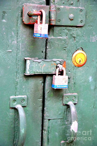 Photograph - Locked Tight by Carol Groenen