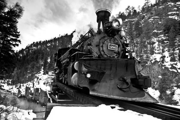 Wall Art - Photograph - Locomotive Plow by Patrick  Flynn
