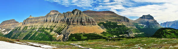 Photograph - Logan Pass Panorama by Greg Norrell