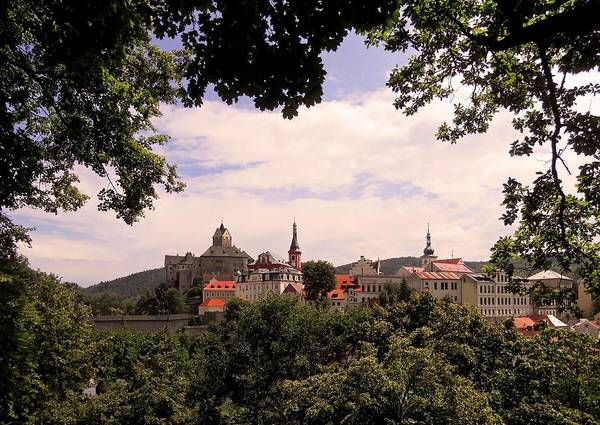 Photograph - Loket - Czech Republic by Juergen Weiss