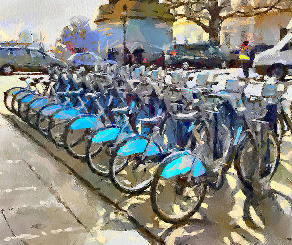 Wall Art - Photograph - London Bicycles by Yury Malkov