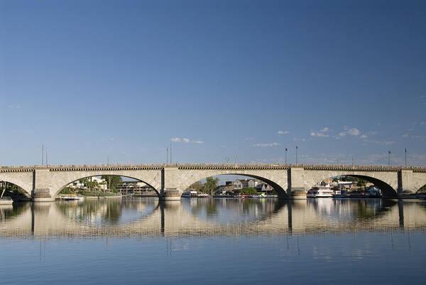 Wall Art - Photograph - London Bridge And Reflection by Gloria & Richard Maschmeyer