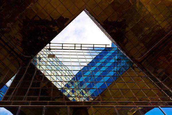 Southbank Photograph - London Building Abstract by David Pyatt