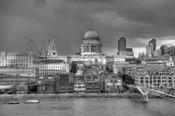 Photograph - London Cityscape by Gary Eason