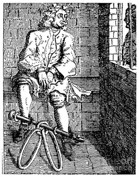 Drawing - London Debtors Prison - To License For Professional Use Visit Granger.com by Granger