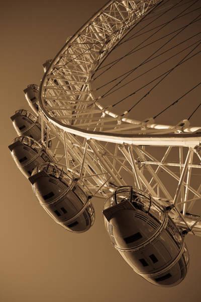 Wall Art - Photograph - London Eye Image by David Pyatt