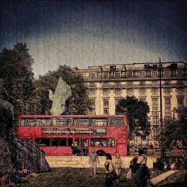 Bus Photograph - London Hydrpark   May 2012 , #london by Abdelrahman Alawwad