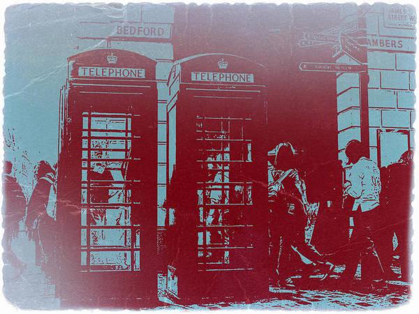 United Kingdom Photograph - London Telephone Booth by Naxart Studio