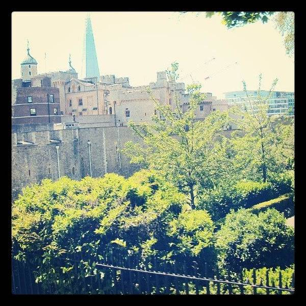 Wall Art - Photograph - #london #trees #green #uk #towers #sky by Abdelrahman Alawwad