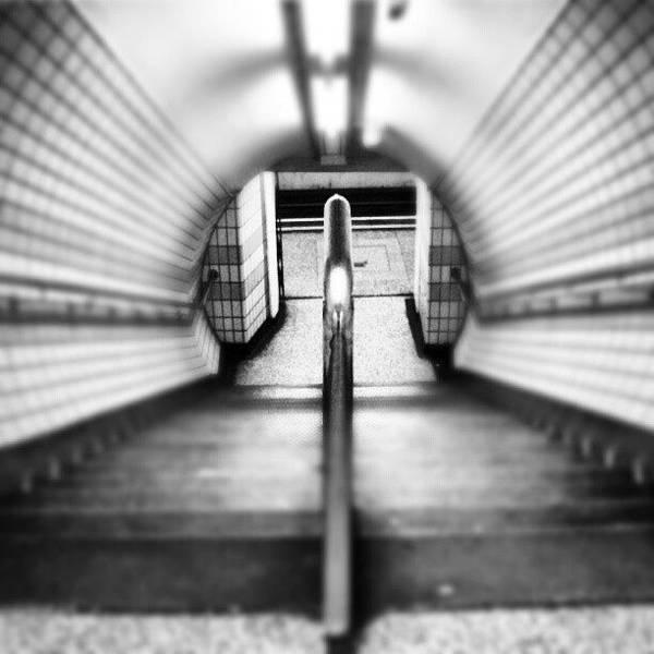 London Wall Art - Photograph - #london #uk May 2012| #underground by Abdelrahman Alawwad