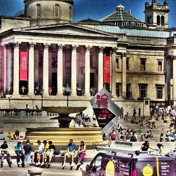 #london2012 #london #uk #summer2012 Art Print