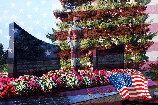 Photograph - Lone Soldier Memorial by Kay Novy