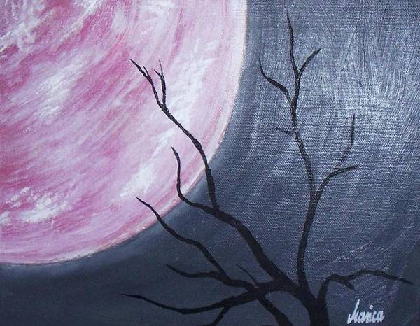 Painting - Lonely Night by Marianna Mills