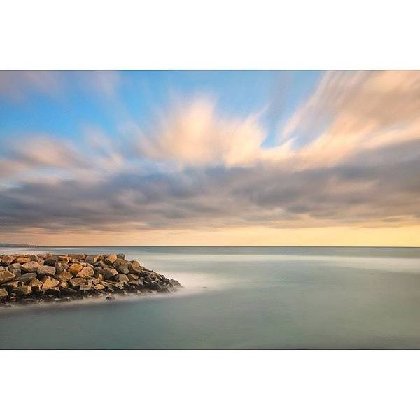 Long Exposure Shot From The North Ponto Art Print