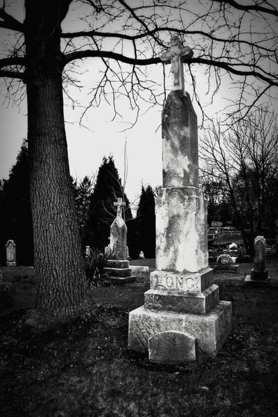 Long Grave Art Print